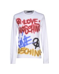 Love Moschino - White T-shirt for Men - Lyst
