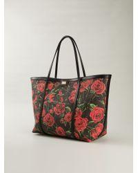 Dolce & Gabbana | Black 'Escape' Shopper Tote | Lyst