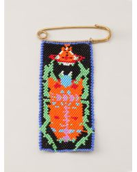 Vivienne Westwood - Multicolor Africa Pin - Lyst