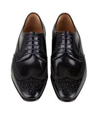 Paul Smith - Black Aldrich Leather Derby Shoe for Men - Lyst