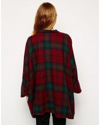 Cooper & Stollbrand - Red Cape With Sleeves - Lyst