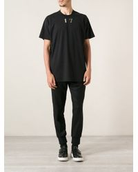 Givenchy - Black 17 Tshirt for Men - Lyst