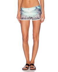 All Things Fabulous - Blue Track Short - Lyst