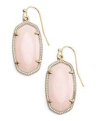 Kendra Scott | Metallic 'dani' Stone Drop Earrings | Lyst