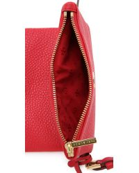 Tory Burch - Red Robinson Mini Fold Over Bag - Tiger's Eye - Lyst