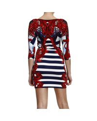 Philipp Plein - Red Roses Garden Dress - Lyst