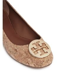 Tory Burch - Brown 'reva' Ballet Flat - Lyst