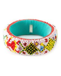 Isabel Marant | Blue 'marcielo' Sequin Bangle | Lyst