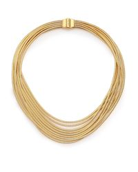 Marco Bicego - Metallic Cairo 18k Yellow Gold Multi-row Necklace - Lyst