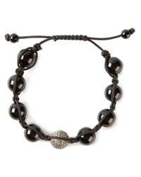 Christian Koban   Black Shambhala Diamond Bracelet   Lyst