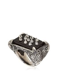 KD2024 - Black 4p Ring for Men - Lyst