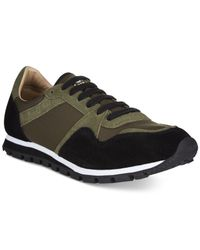 Kenneth Cole Reaction | Green Late Riser Sneakers for Men | Lyst