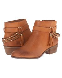 Chinese Laundry | Brown Seasons Leather Ankle Boot | Lyst