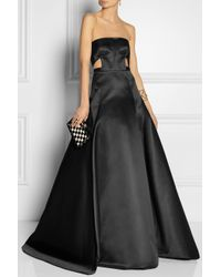 Jason Wu - Black Duchesse satin Gown - Lyst