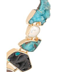 Melissa Joy Manning - Metallic 14-karat Gold And Sterling Silver Multi-stone Necklace - Lyst