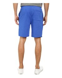 Converse | Blue Core Plus French Terry Short for Men | Lyst