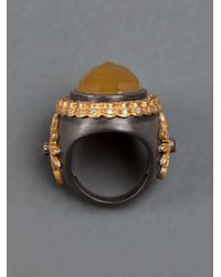 Sara Weinstock - Yellow Beryl Ring - Lyst