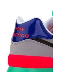 New Balance - Black Pop Tropical 574 Sneakers In Alloy - Lyst