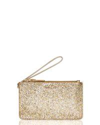 Kate Spade | Metallic Glitter Bug Slim Bee | Lyst