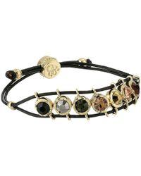 Jessica Simpson - Black Color Dash Slider Bracelet - Lyst
