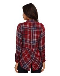 Lucky Brand | Red Bungalow Flannel | Lyst