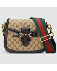 Gucci - Multicolor Lady Web Original Gg Shoulder Bag - Lyst