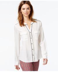 Sanctuary - White Essential Parisian Button-down Shirt - Lyst