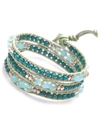 Nakamol - Multicolor First Element Wrap-Amazonite - Lyst