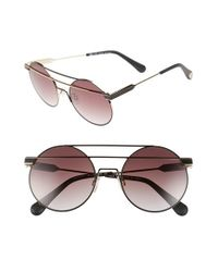 Ill.i by Will.i.am - Black 'wa5015' 55mm Sunglasses - Lyst