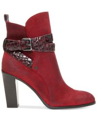 Donald J Pliner | Red Oli Booties | Lyst