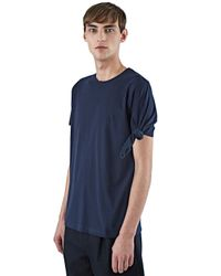 J.W.Anderson - Blue Single Knot T-shirt for Men - Lyst