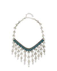 DANNIJO - Blue Havinita Necklace - Lyst