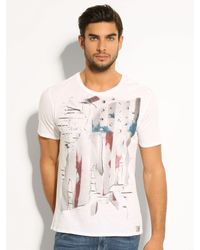 Guess | White Joy and Reason Tee for Men | Lyst