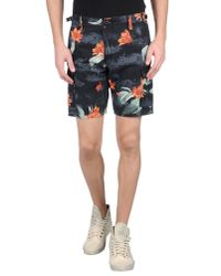 Carhartt - Blue Bermuda Shorts for Men - Lyst