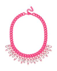 BaubleBar | Pink Dipped Ray Collar | Lyst