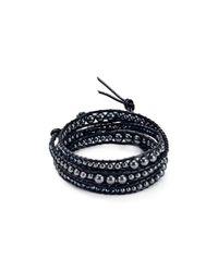 Chan Luu | Black Wrap Bracelet | Lyst