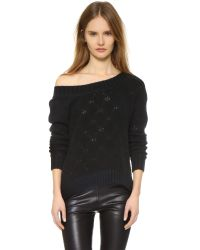 ThePerfext | Cashmere Flatbush Sweater - Black | Lyst