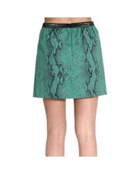 Pinko | Green Women's Skirts | Lyst