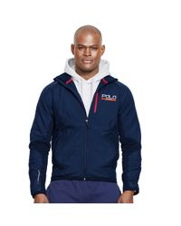 Ralph Lauren | Blue Hybrid Tech Jacket for Men | Lyst