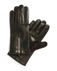 Want Les Essentiels De La Vie | Black 'mozart' Lambskin Gloves for Men | Lyst