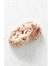 Urban Outfitters - Pink Braided Cable Beret - Lyst