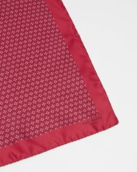 Ted Baker - Pink Geo Tile Print Pocket Square for Men - Lyst