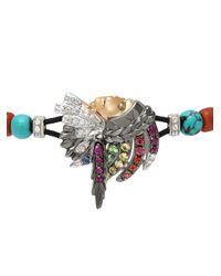 Pippo Perez - Metallic American Indian Bracelet - Lyst
