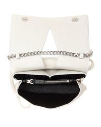 Jil Sander - White Leather Shoulder Bag - Lyst