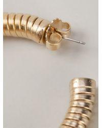 Janis Savitt - Metallic 'cobra' Earrings - Lyst