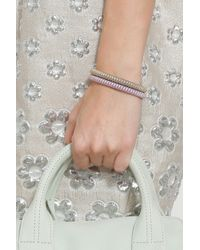 Carolina Bucci | Purple Rose Gold Twister Bracelet | Lyst