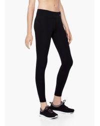 Mango - Black Fitness & Running - Slimming Effect Leggings - Lyst