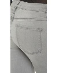FRAME - Gray Le Skinny De Jeanne Jeans - Russo - Lyst