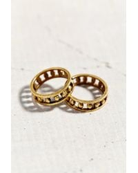 Urban Outfitters - Metallic Castle Gates Ring Set - Lyst
