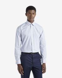 Ted Baker | Blue Circle Print Shirt for Men | Lyst